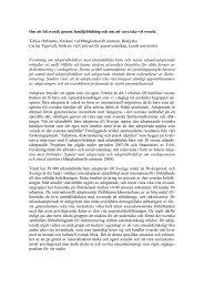Adoption, diskriminering och etnisk identitet - Tobias Hübinette