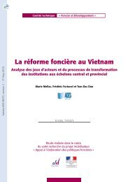 La réforme foncière au Vietnam