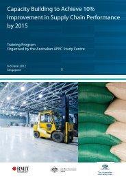 Singapore Program - Australian APEC Study Centre
