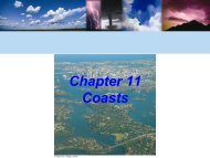 Chapter 11 Coasts