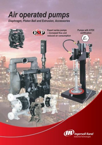 View Air Operated Pumps Brochure - Air Energy Management