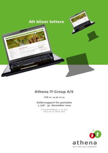 First North Meddelelse nr. 76-2012 - Athena