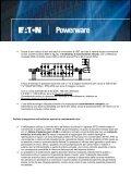 vantaggi e benefici dei gruppi di continuita' eaton - Gfo Europe S.p.A. - Page 2