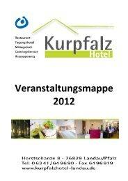 Brunch Vorschlag 1 - Kurpfalzhotel Landau