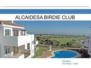 Birdie Club Brochure - Restless Earth