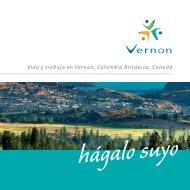 Vida y trabajo en Vernon, Colombia Británica, Canadá - City of Vernon