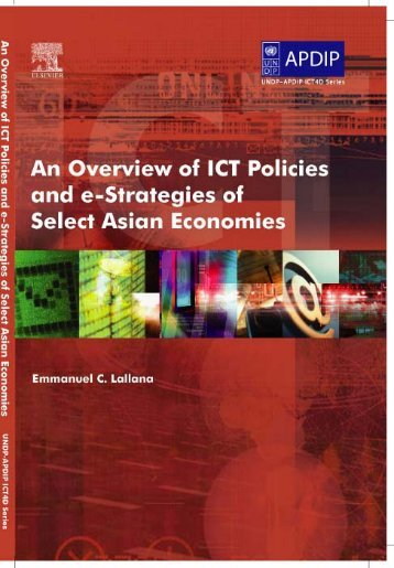 e-strategies of select Asian Economies - Digital Knowledge Centre