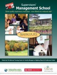 Management School - National Recreation and Park Association