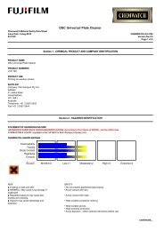 DSC Universal Plate Cleaner - FUJIFILM Australia