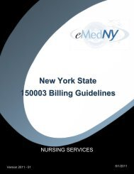 Private Duty Nursing - eMedNY
