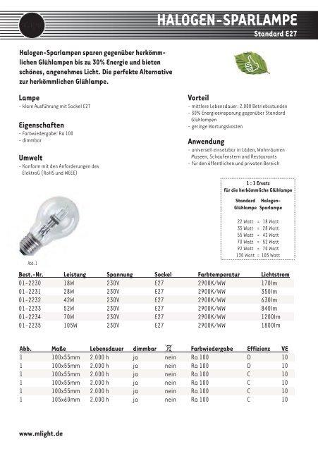 halogen-sparlampe