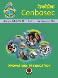 Innovation in Education - CBSE