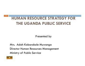 Presentation on Human Resource Strategy Joint Annual Review