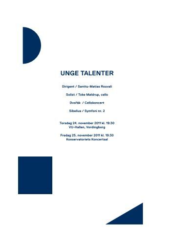 Unge talenter / 24.-25. november 2011 - Copenhagen Phil