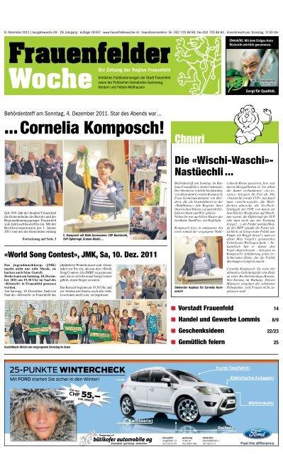 Frauenfelder Woche, Ausgabe KW 09, 27. Februar 2019 by