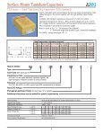 Surface Mount Tantalum Capacitors - The home page for HEP is ... - Page 4