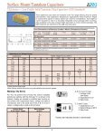 Surface Mount Tantalum Capacitors - The home page for HEP is ... - Page 6