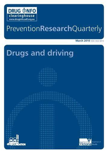 PDF: 1.1MB - DrugInfo - Australian Drug Foundation
