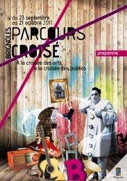 Programme Parcours Croisé 2011 - Ville de Brignoles
