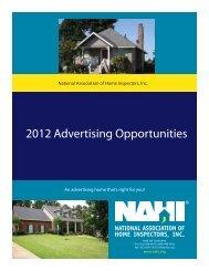 2012 Advertising Opportunities - NAHI