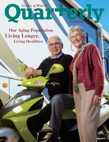 Living Longer, - Active for Life