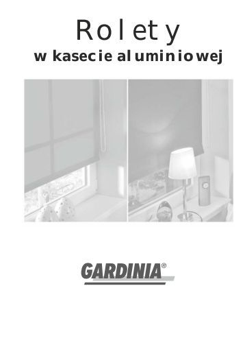 Karta produktu - Gardinia