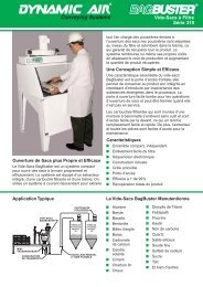 BagBuster Vide-Sacs à Filtre Série 319 - Dynamic Air Inc.