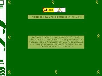solicitud recetas isfas - UnionGC