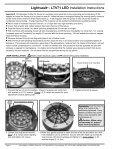LIGHTVAULT® - LTV71 LED Installation Instructions - Kim Lighting - Page 4