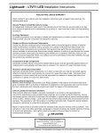 LIGHTVAULT® - LTV71 LED Installation Instructions - Kim Lighting - Page 5