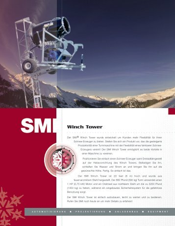 Winch Tower (Ge) - Snow Machines, Inc.
