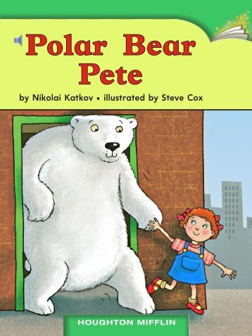 Lesson 20:Polar Bear Pete