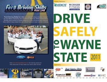 2011 Agenda - College of Engineering - Wayne State University