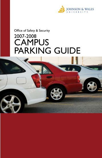 CAMPUS PARKING GUIDE - Johnson & Wales University