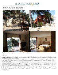 Villa Roma – Ciovo, near Trogir - Croatia Gems