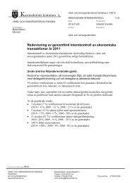 7/12 Internkontroll av ekonomiska transaktioner 2011 på vård
