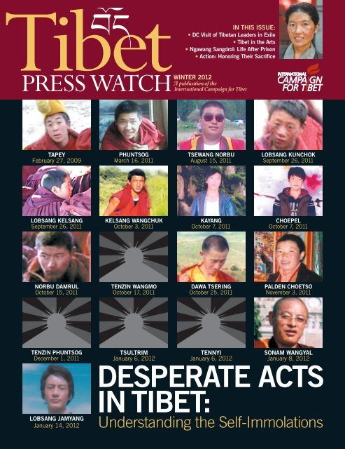 download the entire issue as a PDF. - International Campaign for Tibet