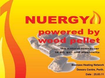 Wood pellets as fuel - Wood Energy Scotland