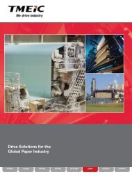 Drive Solutions for the Global Paper Industry - Tmeic.com