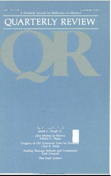 Summer 1981 - Quarterly Review
