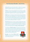 Annual Report 2007 - University of Namibia - Page 6