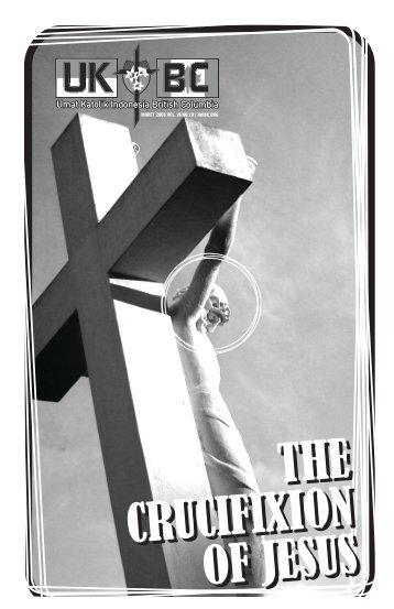 THE CRUCIFIXION OF JESUS THE CRUCIFIXION OF JESUS - ukibc