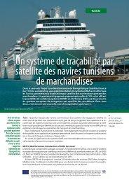 Un système de traçabilité par satellite des navires tunisiens de ...