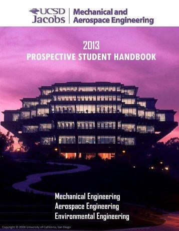 2013 prospective student handbook - Mechanical and Aerospace ...