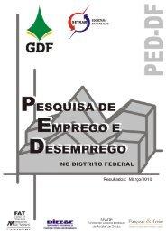 Distrito Federal - Março de 2010 - Ministério do Trabalho e Emprego