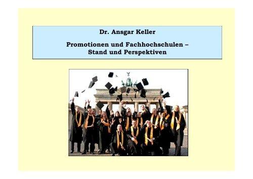 Promotion Mit Fh Abschluss