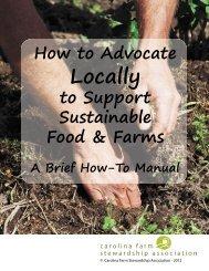 Locally - Carolina Farm Stewardship Association