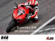 Superbike 848 - Applications services