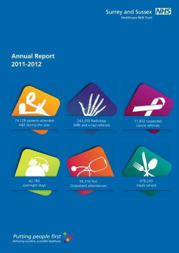 Annual Report 2011-12 - Surrey and Sussex Healthcare NHS Trust