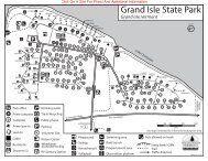 Grand Isle State Park Interactive Campground Map & Guide